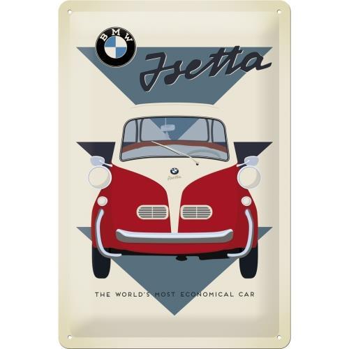 22242 Plakat 20 X 30cm Bmw Isetta Econ